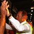 Tony Abbott meets local workers at Brisbane Markets in Brisbane, Australia. Photo / Getty Images.