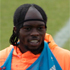 Ivory Coast's Gervinho sports an unfortunate headband and braids combo. Photo / AP.