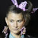 A model wears a creation by House of Holland. Photo / AP