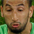 England's Aaron Lennon, right, and Algeria's Nadir Belhadj, left, compete for the ball during the World  Cup. Photo / AP