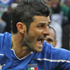 Italy's Vincenzo Iaquinta celebrates after scoring a penalty during the Group F match against New Zealand in Nelspruit. Photo / AP