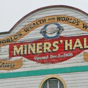 Runanga Miners Hall, West Coast Road. Photo / Jim Eagles