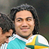 Ma'a Nonu warms up with team-mates at an All Blacks training session. Photo / Getty Images