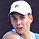 Marina Erakovic of New Zealand plays a forehand during her doubles match with partner Sofia Arvidsson of Sweden against Simona Halep of Romania and Tamira Paszek of Austria. Photo / Getty Images
