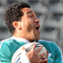 Mils Muliaina trains during the All Blacks captain run. Photo / NZPA