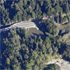 An aerial view of the mine's entrance. Photo / Supplied
