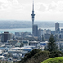 A view of  Auckland City from Mt Eden, scene of a destruction so severe, Maungawhau was never occupied again. Photo / Martin Skyes