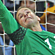 New Zealand All Whites goalkeeper Mark Paston saves a shot at goal by Italy. Photo / Brett Phibbs