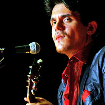 American singer John Mayer plays Auckland's Vector Arena. Photo / Dean Purcell