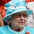 Britain's Queen Elizabeth II applauds as the match between Britain's Andy Murray and Finland's Jarkko Nieminen ends. Photo / AP