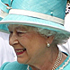 Britain's Queen Elizabeth II meets defending champion Roger Federer as she attends the Wimbledon Lawn Tennis Championships for the first time in 33 years. Photo / AP