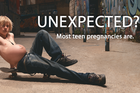 Pregnant boys show up in ads