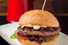 The controversial Coat of Arms burger.Photo / Facebook