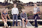 BOX founders Nat Jakich, Nat Holloway, Tim Dorrington, Dan Heyworth. Photo / Nic Staveley
