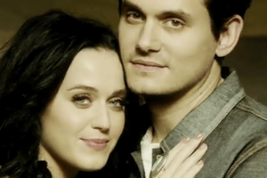 Katy Perry and John Mayer in the video for Who You Love.