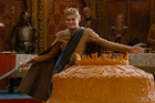 King Joffrey celebrates his wedding during the fourth season of Game of Thrones.