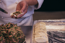 The dumplings at Pot Sticker Dumpling Bar are hand crafted each day. Picture / Supplied.