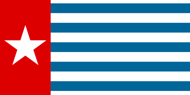 The Morning Star - national flag of West Papua