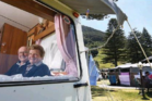 Laura and Don Murray have been camping at the same campsite at the Mount Maunganui Beachside Holiday Park for almost 60 years.