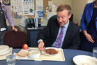 Health Minister Dr Jonathan Coleman has praised hospital food