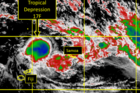 MetService meteorologist Bill Singh said a tropical depression was sitting north of Fiji. Photo: MetService
