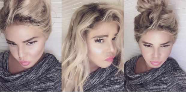 Lil' Kim posted a series of selfies on Instagram looking noticeably blonder, lighter, and paler.