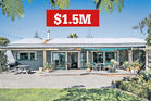 The charming design of this four-bedroom Haumoana home was said to be only one of its drawcards for buyers.