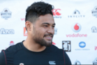 Rookie Warriors front-rower Toafofoa Sipley is keen to test himself against Kiwis internationals Jared Waerea-Hargreaves and Sam Moa on Sunday.