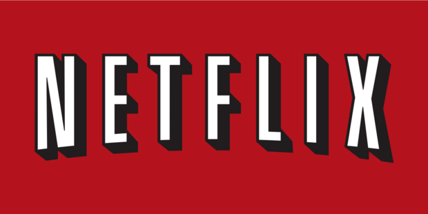 Netflix's old logo from the late 2000s.