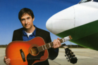 Musician Dave Carroll created a YouTube video after United Airlines broke his guitar and provided poor customer service. Photo / Supplied