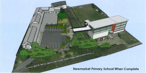 Associate Education Minister Nikki Kaye said it would be the first four-storey block at a state school. Photo / Supplied