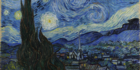 Google's Art & Culture app lets you scroll through art by time, including seeing how Vincent Van Gogh's works went from gloomy to vivid. Image/MoMA