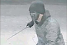 CCTV footage of the armed robber who attacked an attendant at the Mobil Service Station on Taradale Rd.