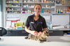 Tauranga Vets veterinarian Holly Rabone features in new show Pet Medics debuting next week. Photo/supplied