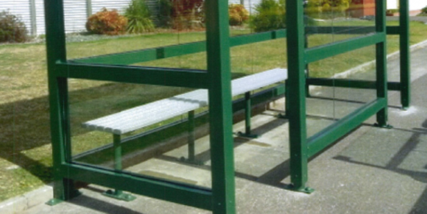 The bus shelter originally located at Torea Street, Granity has now been located.