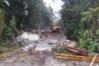 DoC has all but finished demolishing John Scott's Aniwaniwa Visitors' Centre near Lake Waikaremoana. PHOTO SUPPLIED