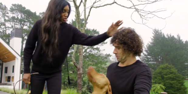 Michelle Blanchard had no problem objectifying her dog trainer, Doggy Dan.