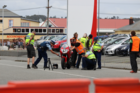One person has died following a crash at a street race event in Greymouth. Photo / Greymouth Star