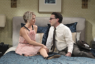 Penny and Leonard are stepping things up in the bedroom department. Photo / Big Bang Theory