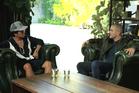 Bruno Mars gets candid with Kiwi presenter Zane Lowe. Photo / Apple