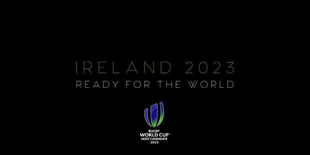 Loading Ireland are ready for the world. Photo / Twitter