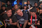 Metallica join late night host Jimmy Fallon for a childish rendition of Enter Sandman.