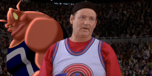 Bill Murray was one of many cameos during the movie.