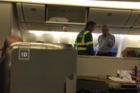 Medical staff came aboard and the air quality controllers were checked. Photo / Eric Winter