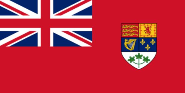 Canada's previous flag.