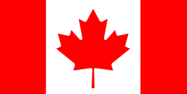 Canada's current flag.