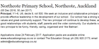 Northcote Primary School is looking for a new principal who is 'like Batman'. Photo / via Education Gazette