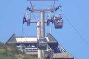 The gondola broke down about 1pm. Photo / Joe Morgan
