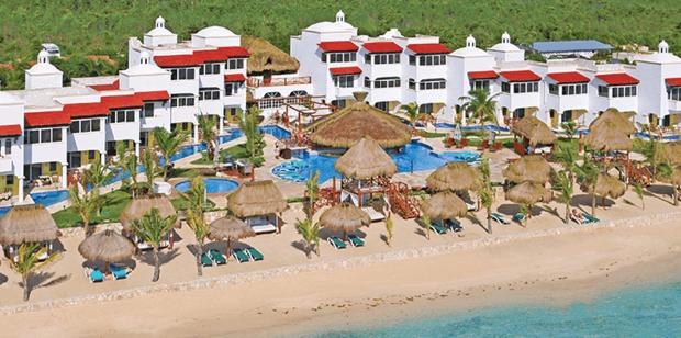 The Hidden Beach Resort is a great place to be nude. Photo / hiddenbeachresort.com