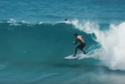 Radical dude rides the never-ending barrel wave. Photo / Youtube